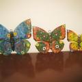 Çok severek çalıştığım kelebeklerim..